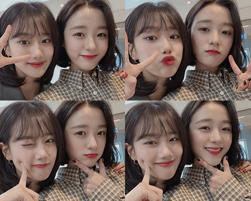 Naeun&Jinsol's Special photo💝