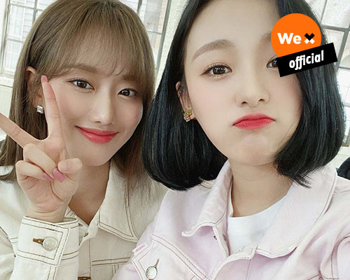 [APRIL] exclusive release! Selfie from Naeun & Jinsol 💖